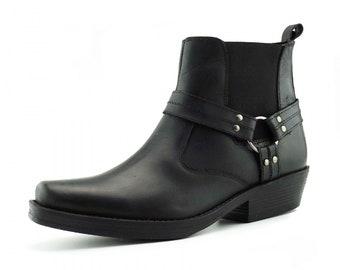 45bc2168438 Cuban heel boots | Etsy