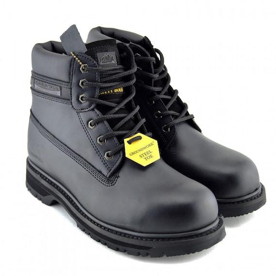 Mens Groundwork Boots Steel Toe Cap