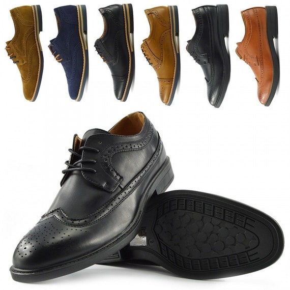 Mens Smart Shoes Faux Leather Casual