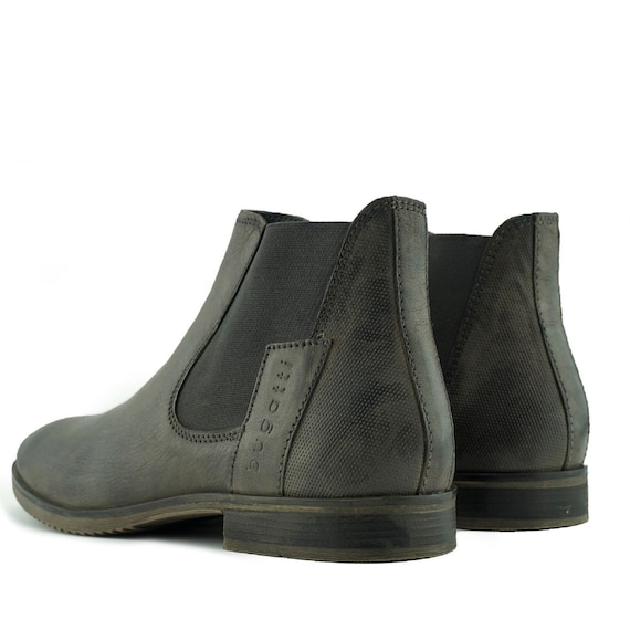 MENS GROUNDWORK SAFETY WORK LEATHER DEALER CHELSEA BOOTS STEEL TOE CAP SIZE