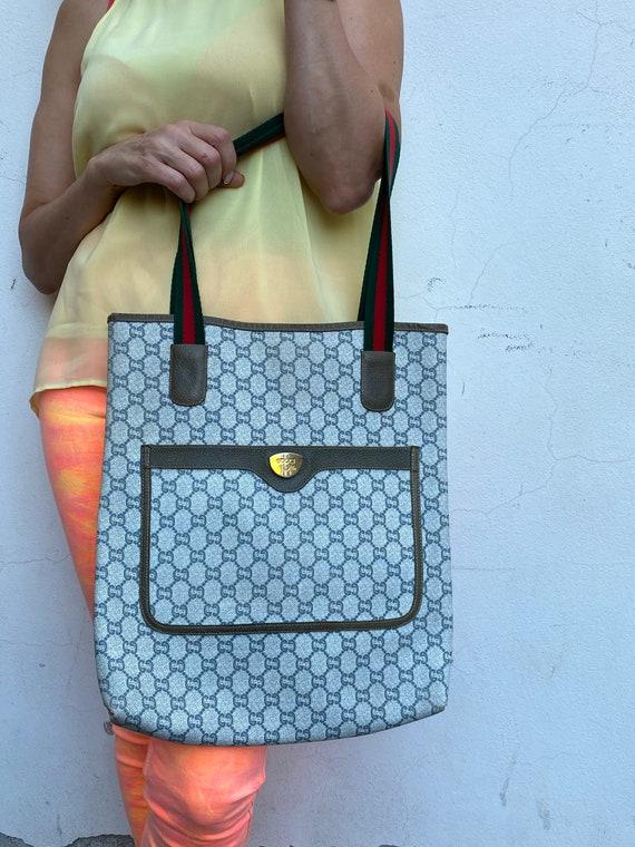 70s Gucci Plus Vintage Shoulderbag rare/Leather S… - image 9