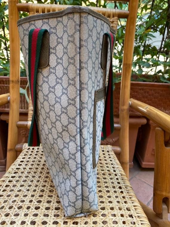 70s Gucci Plus Vintage Shoulderbag rare/Leather S… - image 3