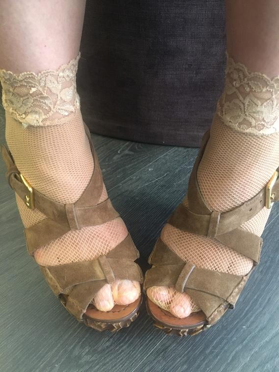 Sandals Miu Miu/ Miu Miu designer sandals/ Leathe… - image 4