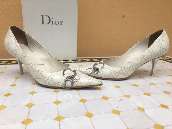 Shoes CHRISTIAN DIOR/ White Décolleté Christian Di