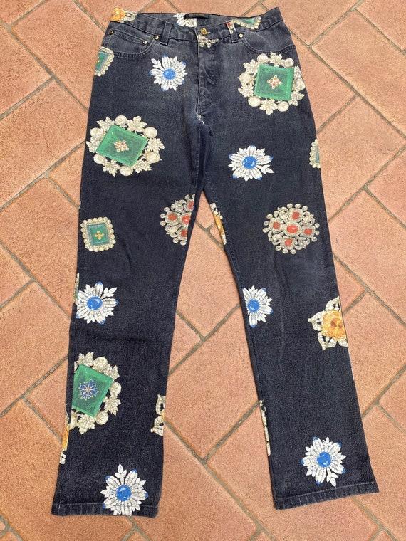 Jeans Roberto Cavalli/ Vintage trousers Cavalli /