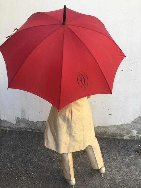 Umbrella Cartier/ Vintage umbrella Cartier/ Rain … - image 2