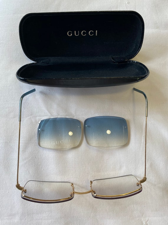 Sun glasses Gucci Vintage 80s / Sunglasses and gu… - image 5