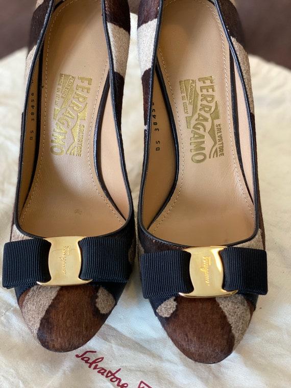 Décolleté Ferragamo/Lady Ferragamo style/Leather s