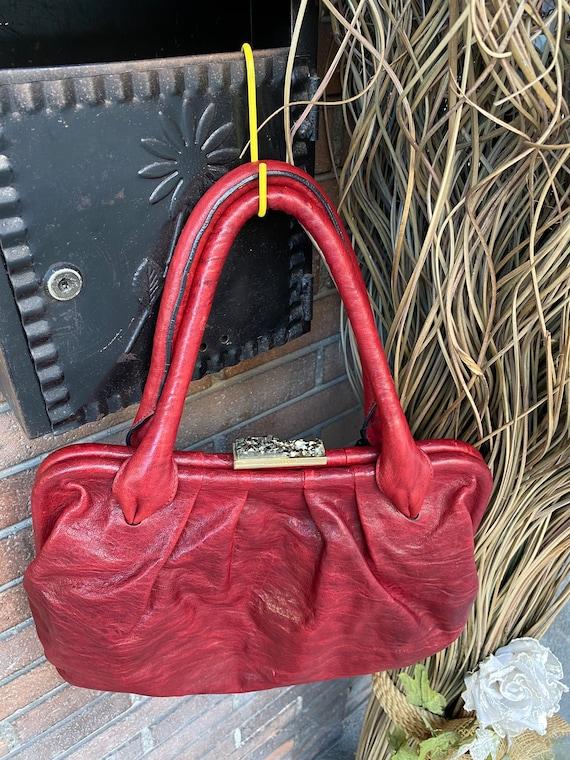 Shoulder bag Ferre/Vintage bag Gianfranco Ferre N… - image 2