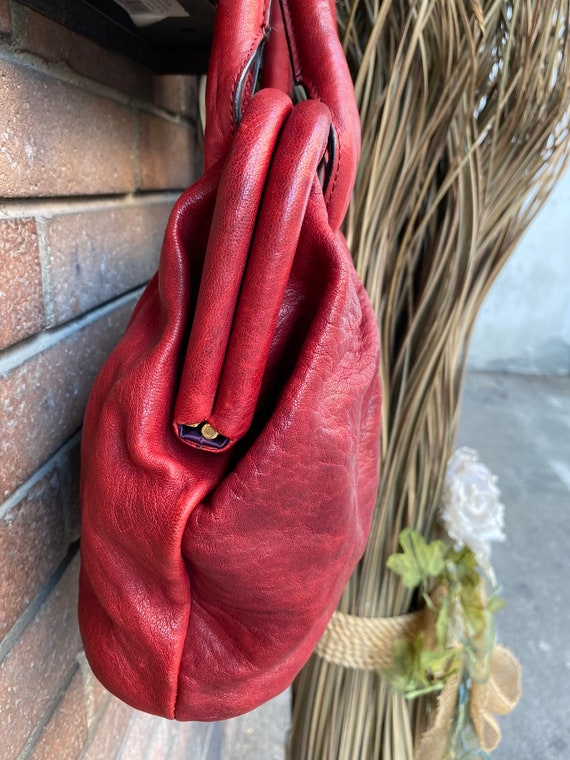 Shoulder bag Ferre/Vintage bag Gianfranco Ferre N… - image 3