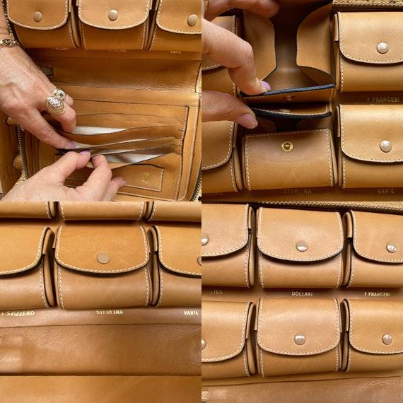 70s Gucci Vintage Authentic Clutch/Gucci Pouch Ba… - image 9