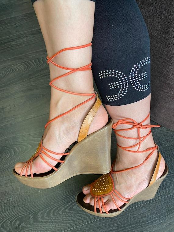 Sandals Alviero Martini/designer sandals 1 CLASSE/