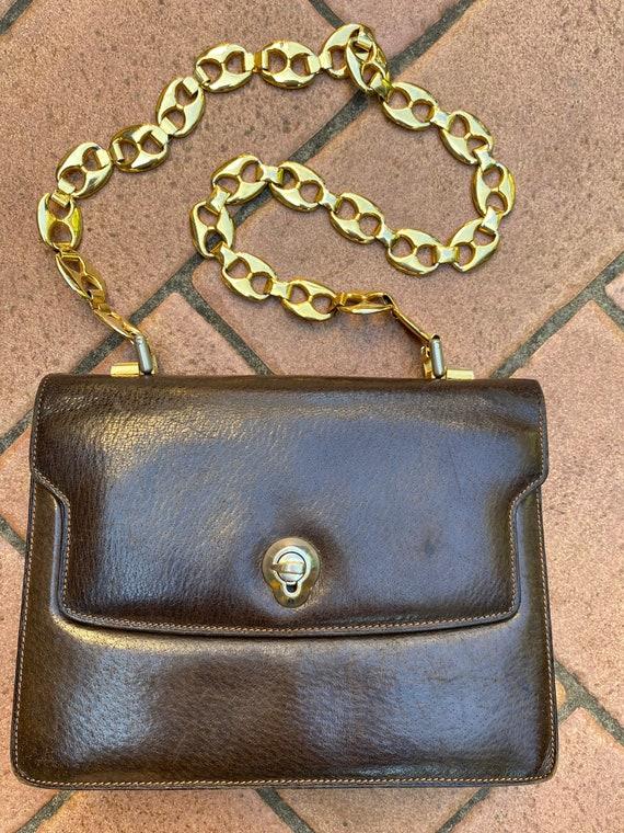 Gucci clutch authentic vintage/Brown bag Gucci/Rar