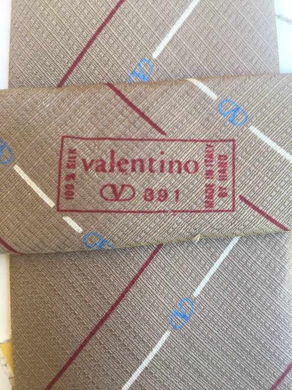 Tie silk Valentino/ Valentino N391 Designer/ Valen