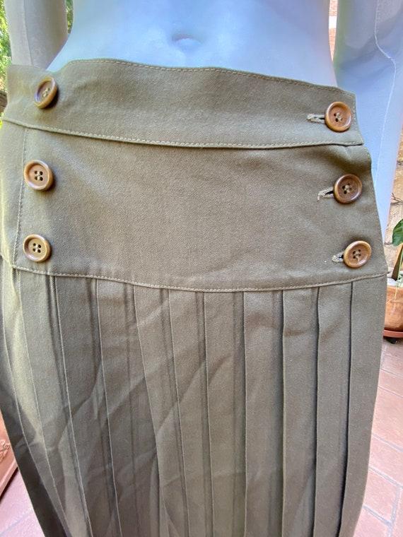 max Mara/Cotton skirt Max Mara vintage/Gonna Max M