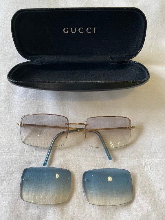 Sun glasses Gucci Vintage 80s / Sunglasses and gu… - image 4