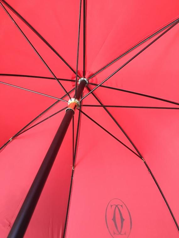 Umbrella Cartier/ Vintage umbrella Cartier/ Rain … - image 5