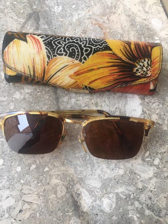 80s Vogue Sun glasses/Vintage Sunglasses Vogue/Fa… - image 10
