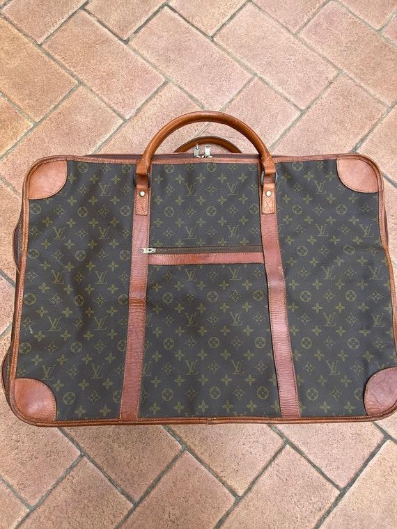 Travel bag LV/Borsone LV/ Brown monogram LV/ Leath