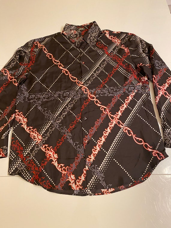 Versace Vintage 90s shirt/Fashion shirt Gianni Ve… - image 2