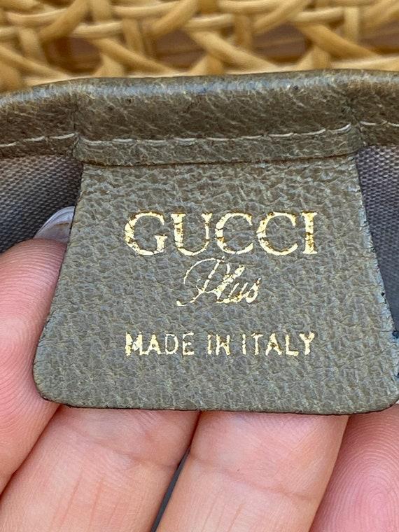 70s Gucci Plus Vintage Shoulderbag rare/Leather S… - image 6