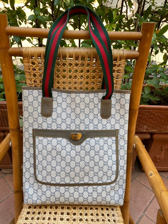 Shoulderbag 70s GUCCI Plus rare authentic Vintage… - image 3