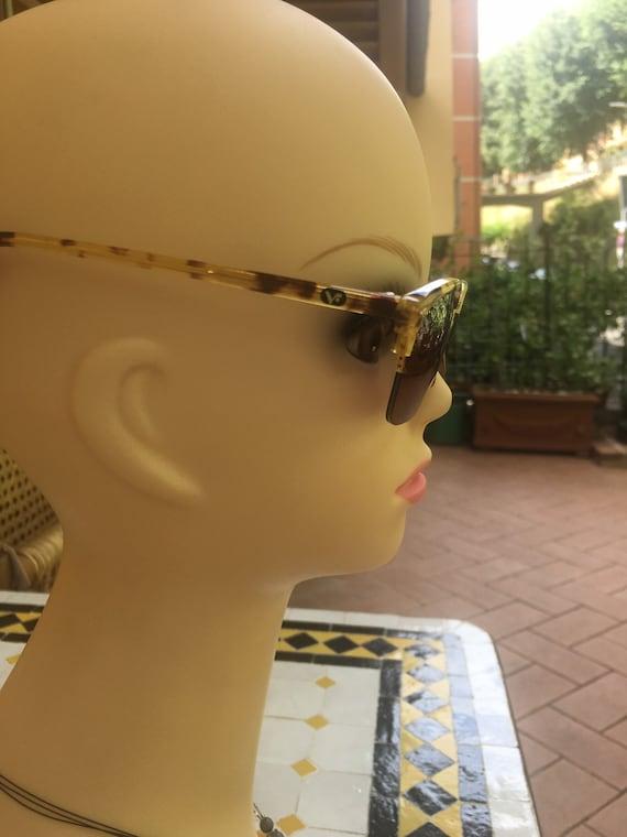 80s Vogue Sun glasses/Vintage Sunglasses Vogue/Fa… - image 2