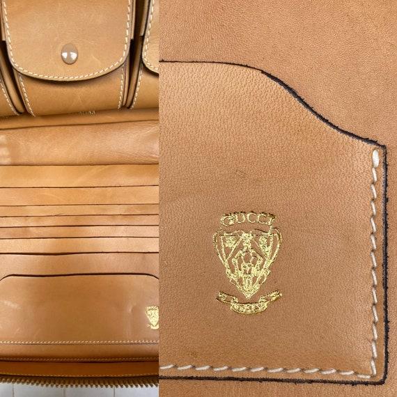 70s Gucci Vintage Authentic Clutch/Gucci Pouch Ba… - image 8