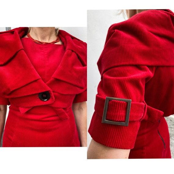 Sfizio/Velvet suit design/Sfizio Red Velvet/Velvet