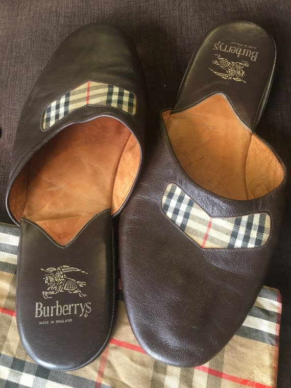 Burberry bedroom slippers/Designer shoes Burberry/