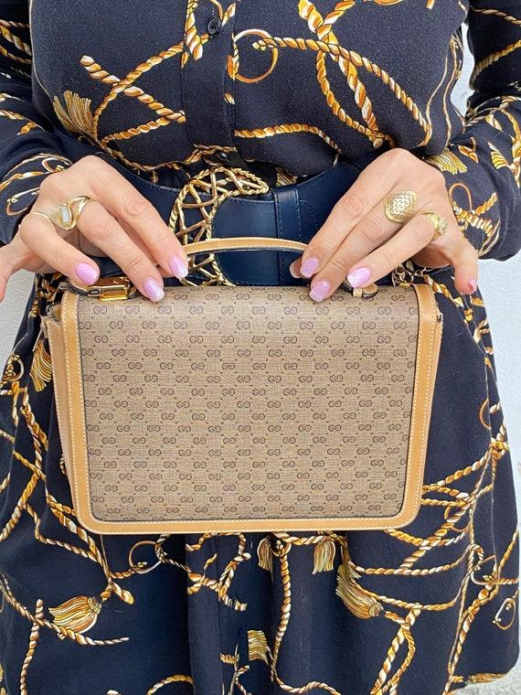 70s Gucci Vintage Authentic Clutch/Gucci Pouch Ba… - image 2