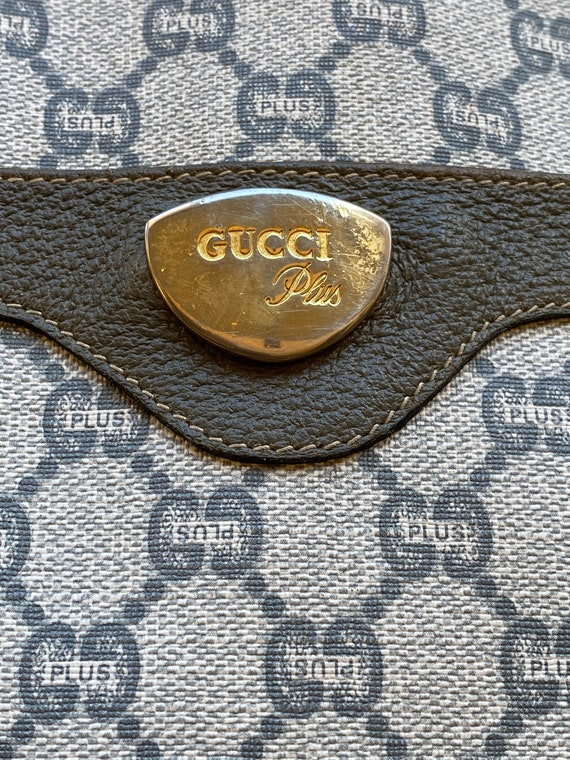 Shoulderbag 70s GUCCI Plus rare authentic Vintage… - image 6