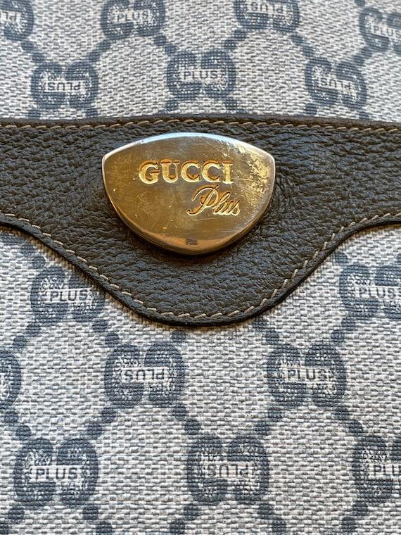 70s Gucci Plus Vintage Shoulderbag rare/Leather S… - image 5
