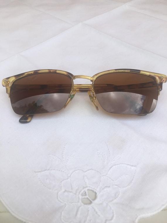 80s Vogue Sun glasses/Vintage Sunglasses Vogue/Fa… - image 5