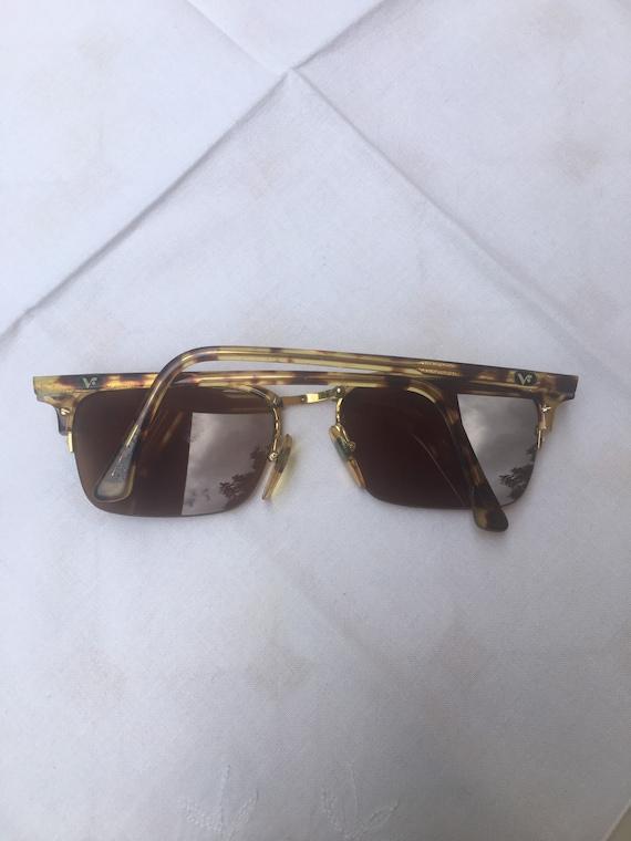 80s Vogue Sun glasses/Vintage Sunglasses Vogue/Fa… - image 4