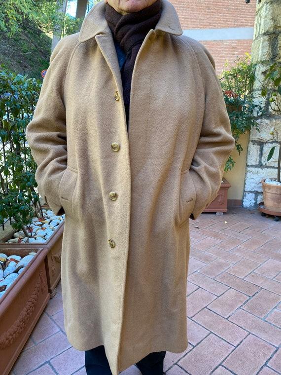 Design Luxury coat Burberry Camel Hair/Coat vintag