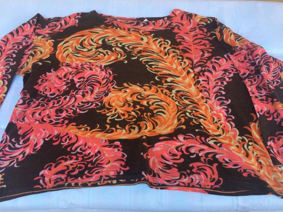 Vintage 70s sweater EMILIO PUCCI/Floreale sweater/