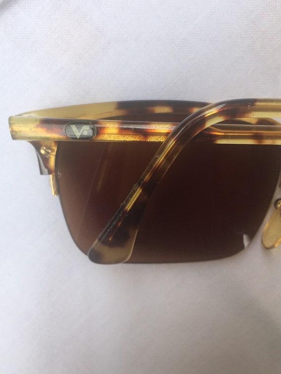 80s Vogue Sun glasses/Vintage Sunglasses Vogue/Fa… - image 7