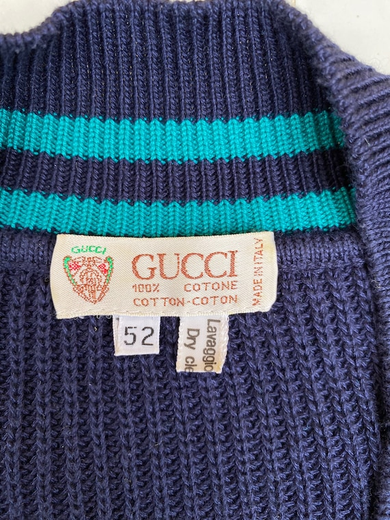 Gucci 80s sweater cotton/Gucci 80s cotton sweater/