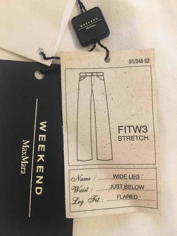 Pantaloons Max Mara/ Jeans Max Mara Writea/ Wide L