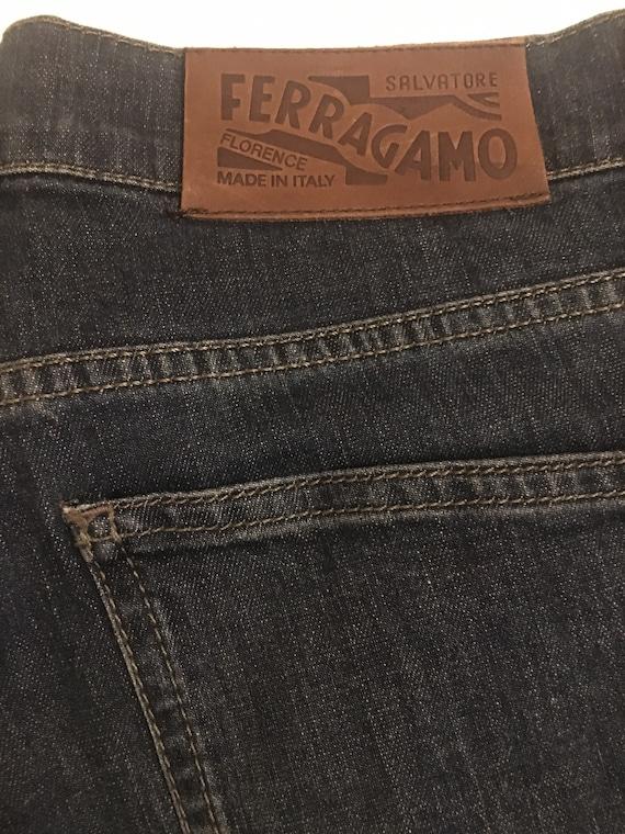 Jeans Salvatore Ferragamo/ Vintage jeans Ferragamo