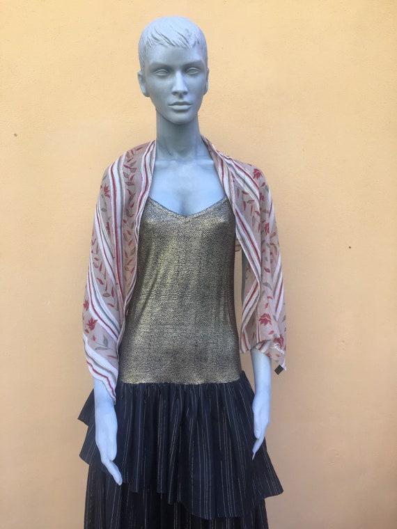 Scarf Gucci / Silk scarf Gucci/ Designer scarf Guc