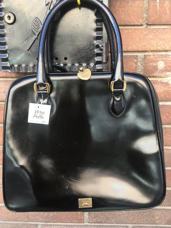 Handbag Moschino/Tote bag Moschino/ Vintage Leathe