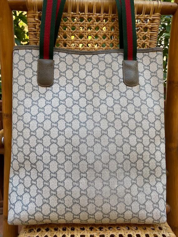 70s Gucci Plus Vintage Shoulderbag rare/Leather S… - image 2