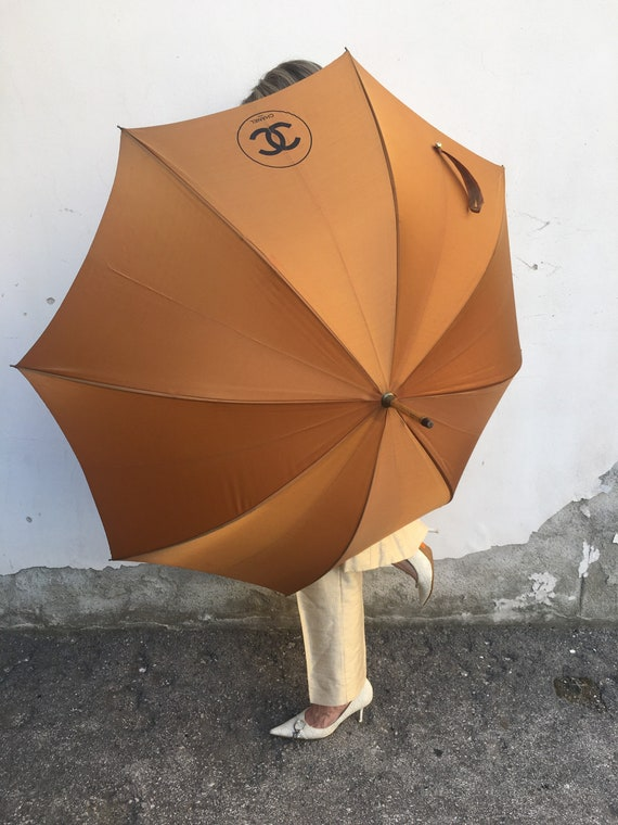 Umbrella Chanel/ Vintage umbrella Chanel/ Rain umb