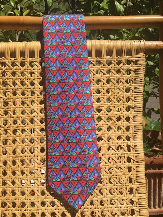 Tie Leonard Paris/ Vintage tie Leonard/ Silk tie L