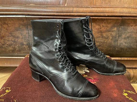 Antique edwardian true vintage 1920s boots