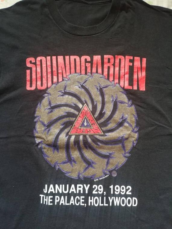 Soundgarden Badmotorfinger KNAC Rare event shirt 1
