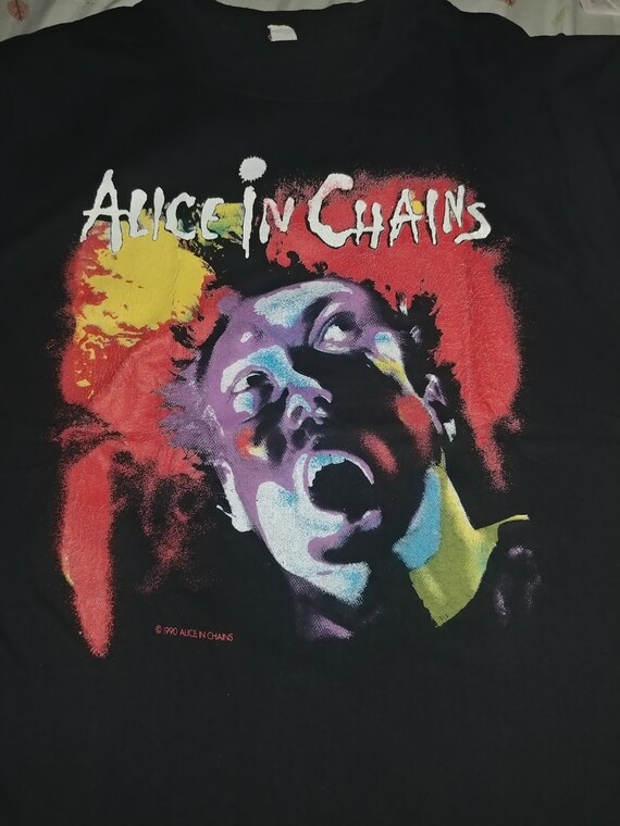 1990 Vintage Alice in Chains Facelift Tour Shirt