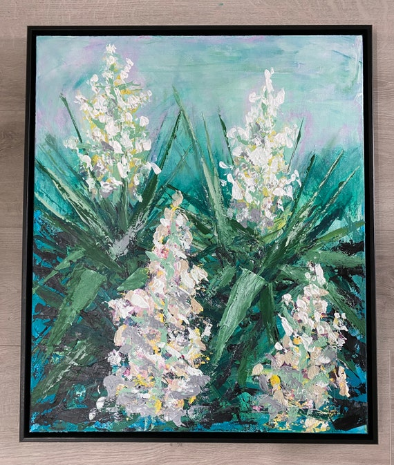 Flower Power - Yucca trees
